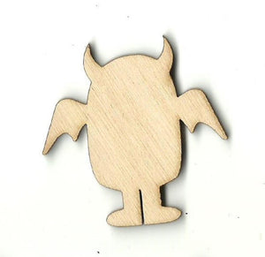 Alien - Laser Cut Wood Shape Spc23 Craft Supply