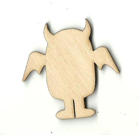 Alien - Laser Cut Wood Shape SPC23