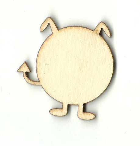 Alien - Laser Cut Wood Shape Spc25 Craft Supply