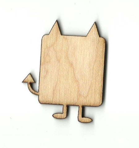 Alien - Laser Cut Wood Shape Spc26 Craft Supply