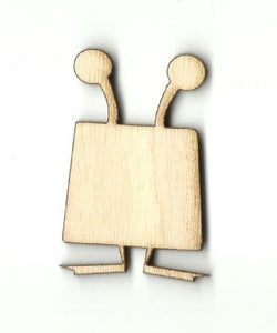 Alien - Laser Cut Wood Shape Spc27 Craft Supply
