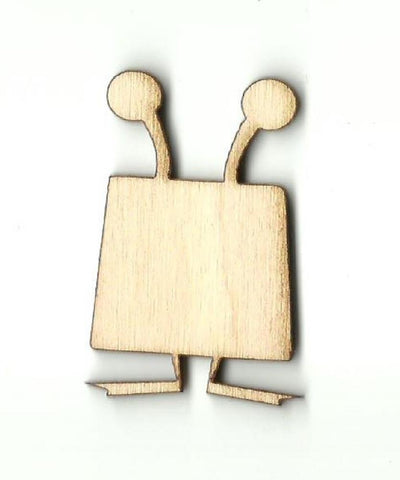 Alien - Laser Cut Wood Shape SPC27