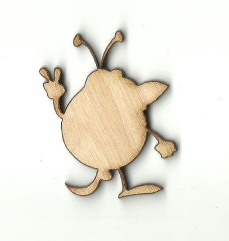 Alien - Laser Cut Wood Shape SPC29