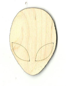 Alien - Laser Cut Wood Shape Spc2 Craft Supply