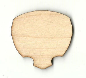 Alien - Laser Cut Wood Shape Spc33 Craft Supply