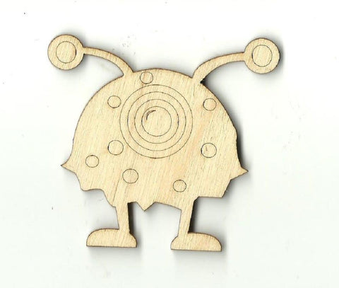 Alien - Laser Cut Wood Shape SPC6