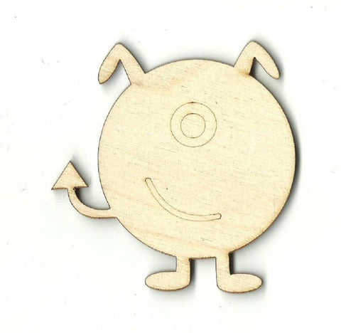 Alien - Laser Cut Wood Shape Spc7 Craft Supply