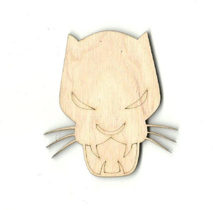 Black Panther - Laser Cut Wood Shape Spr15 Craft Supply