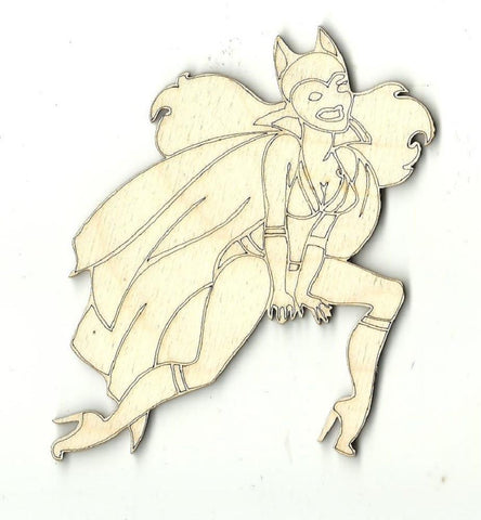 Batgirl - Laser Cut Wood Shape Spr23 Craft Supply