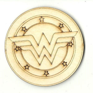 Wonderwoman - Laser Cut Wood Shape Spr54 Craft Supply