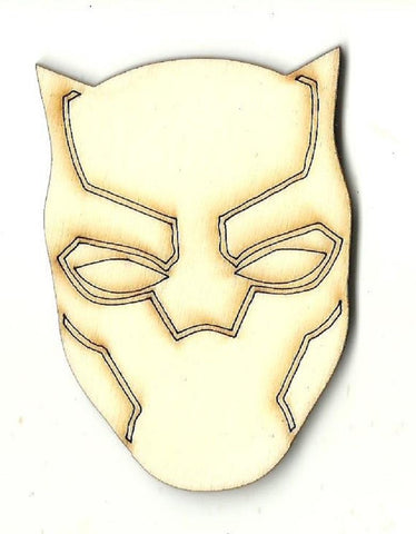 Black Panther - Laser Cut Wood Shape Spr57 Craft Supply