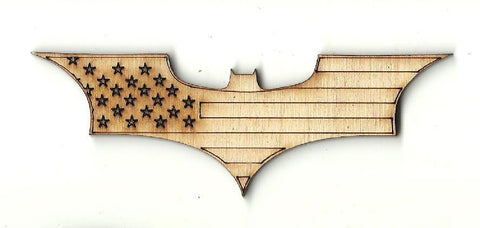 Batman - Laser Cut Wood Shape SPR58