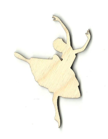 Ballerina - Laser Cut Wood Shape Spt17 Craft Supply