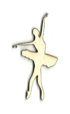 Ballerina - Laser Cut Wood Shape Spt311 Craft Supply