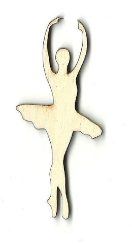 Ballerina - Laser Cut Wood Shape Spt312 Craft Supply