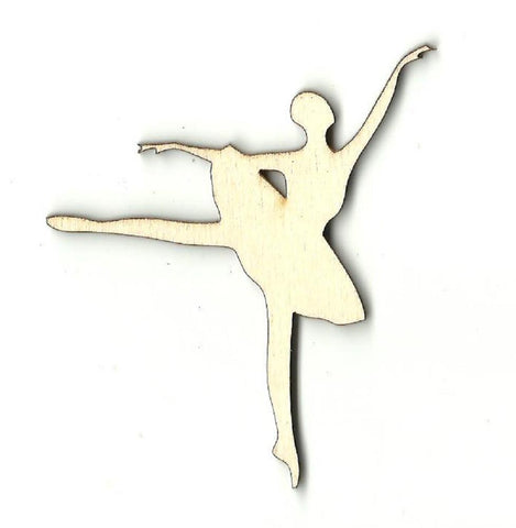 Ballerina - Laser Cut Wood Shape Spt321 Craft Supply