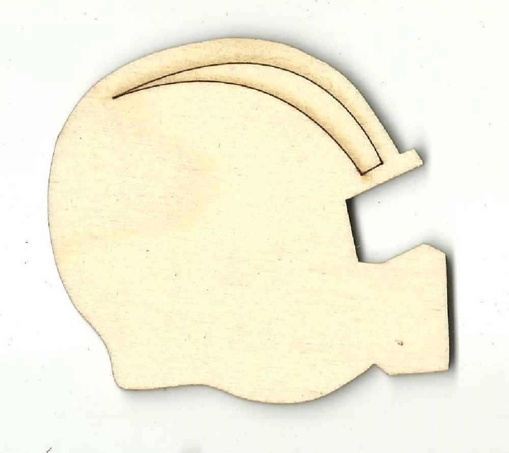 Football Helmet - Laser Cut Wood Shape Spt406 Craft Supply