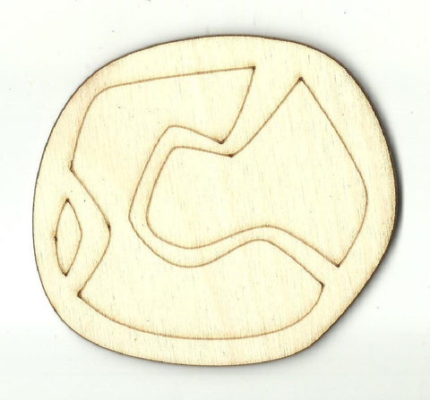Baseball - Laser Cut Wood Shape SPT411