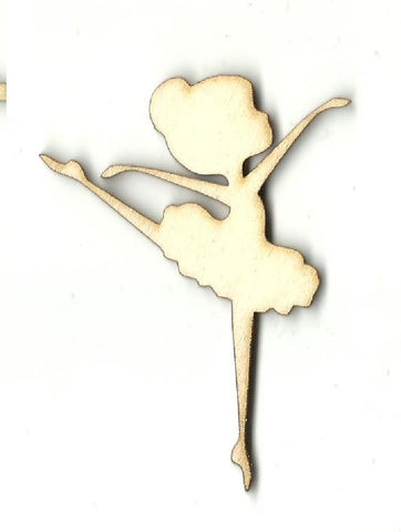 Ballerina - Laser Cut Wood Shape Spt507 Craft Supply