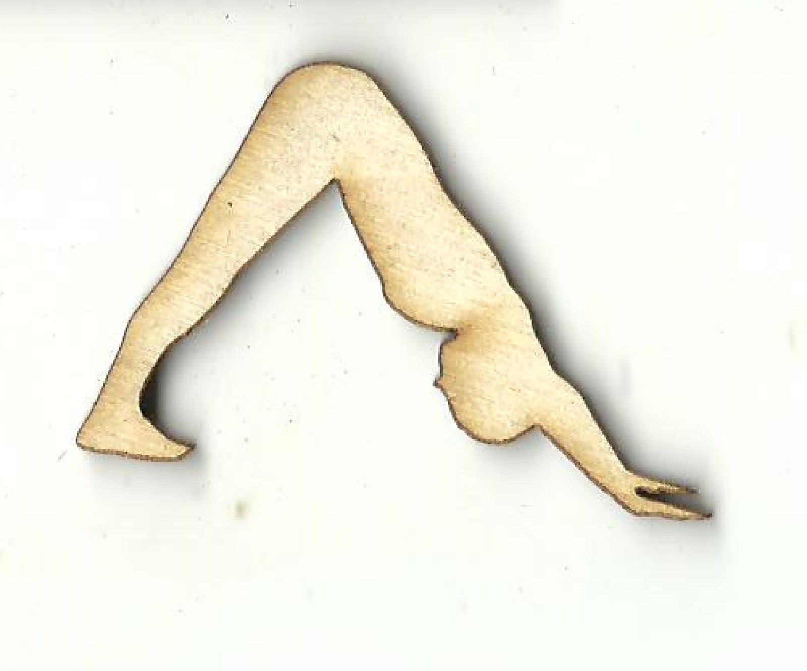 Yoga Pose - Laser Cut Wood Shape SPT655