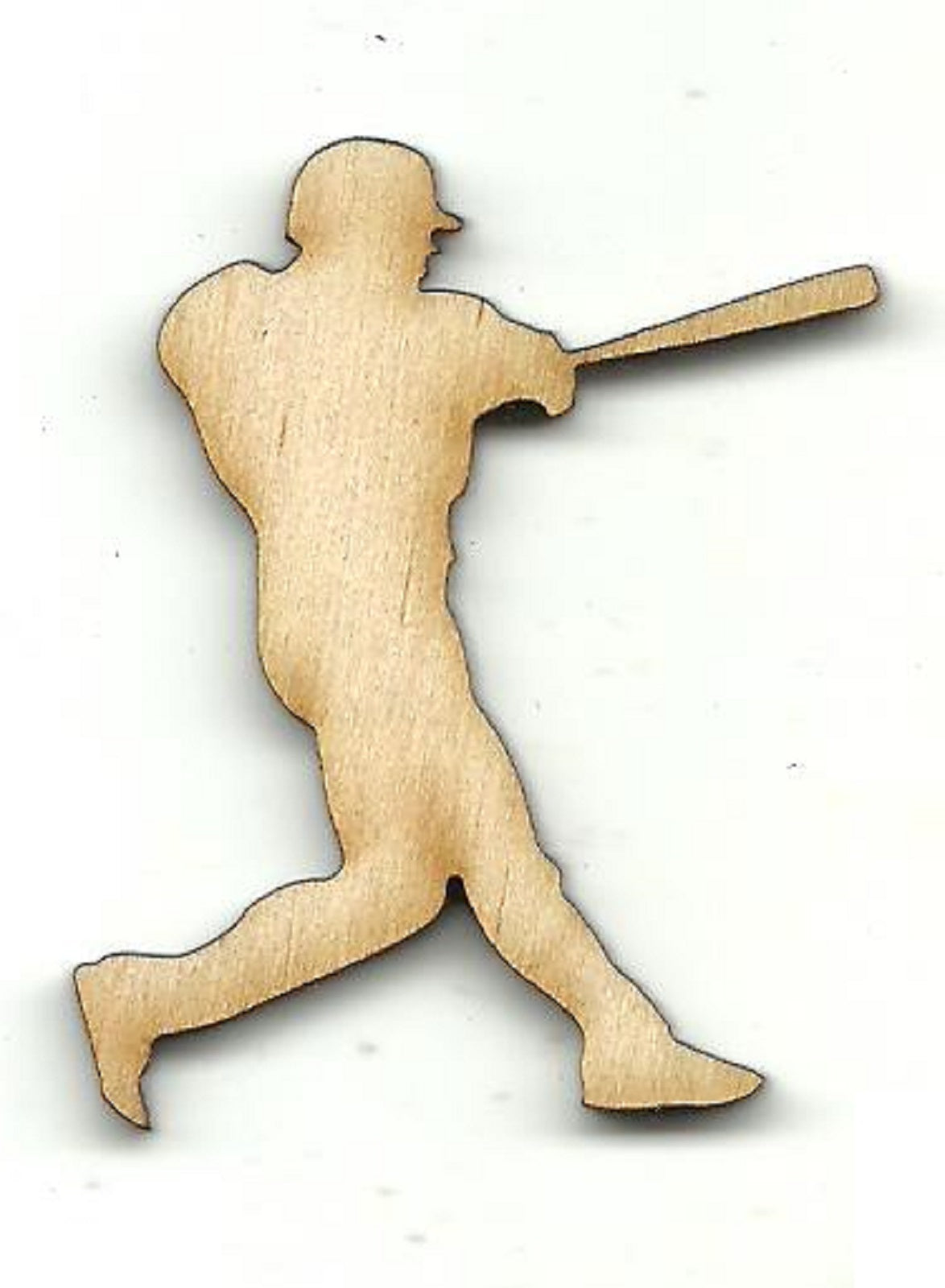 Baseball Player - Laser Cut Wood Shape SPT662