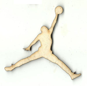 Basketball Player - Laser Cut Wood Shape SPT678
