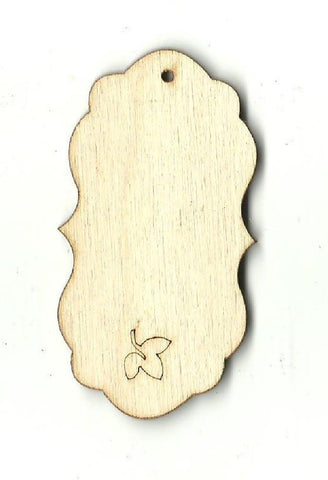 Gift Tag - Laser Cut Wood Shape Tag20 Craft Supply