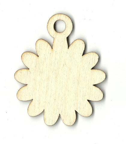 Gift Tag - Laser Cut Wood Shape Tag22 Craft Supply