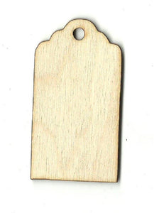 Gift Tag - Laser Cut Wood Shape Tag28 Craft Supply