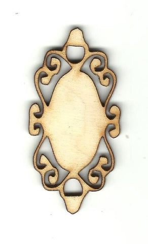 Gift Tag - Laser Cut Wood Shape Tag27 Craft Supply
