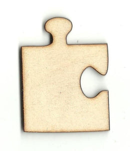 Puzzle Piece - Laser Cut Wood Shape Toy19 Craft Supply
