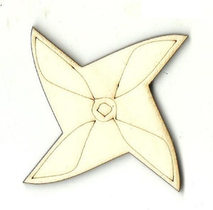 Spinner - Laser Cut Wood Shape Toy35 Craft Supply