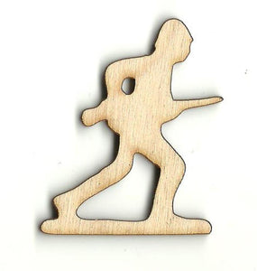 Army Man - Laser Cut Wood Shape Toy37 Craft Supply