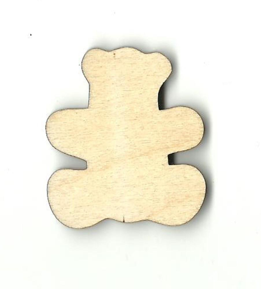 Teddy Bear - Laser Cut Wood Shape Toy24 Craft Supply