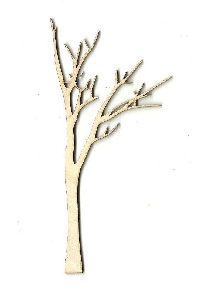 Laser Cut Wood Shape TRE13 Tree