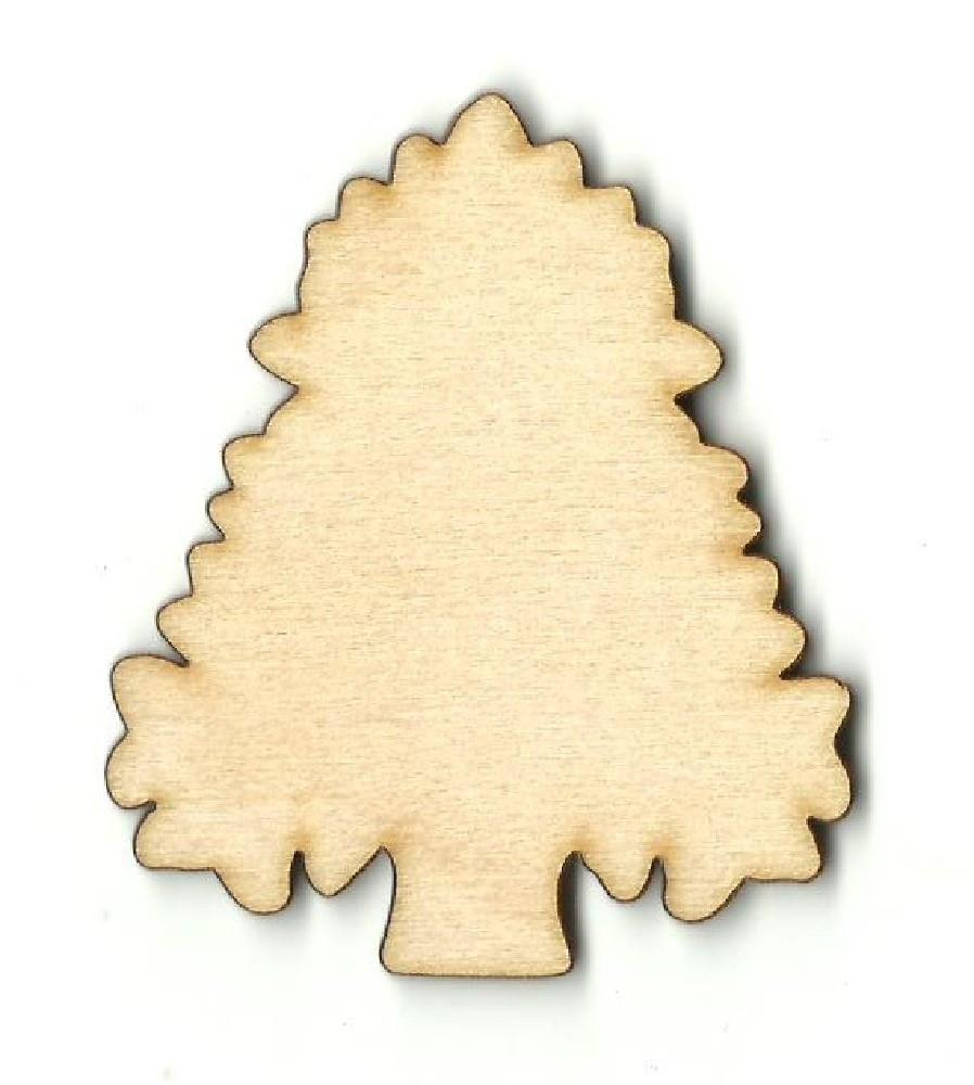 Tree - Laser Cut Wood Shape Tre58 Craft Supply