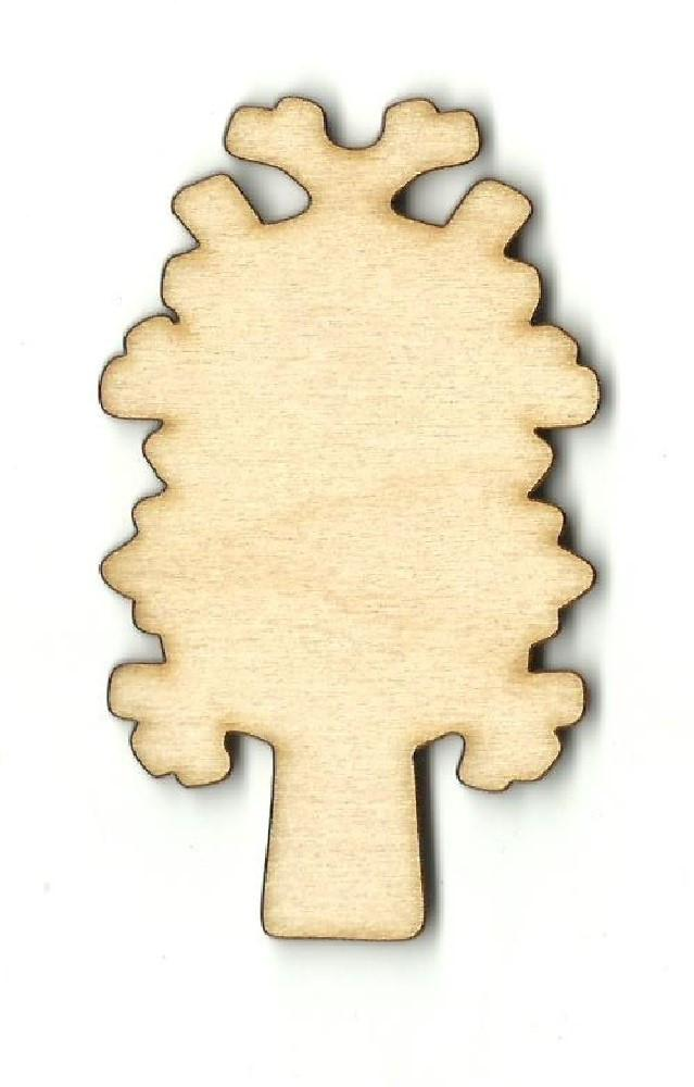 Tree - Laser Cut Wood Shape Tre57 Craft Supply