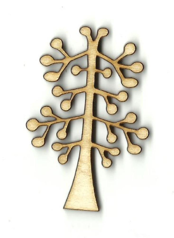 Tree - Laser Cut Wood Shape Tre54 Craft Supply