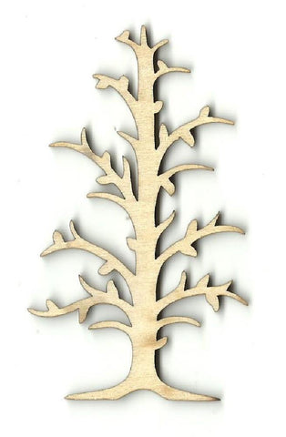 Bare Tree - Laser Cut Wood Shape Tre51 Craft Supply