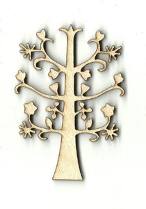 Tree - Laser Cut Wood Shape Tre20 Craft Supply