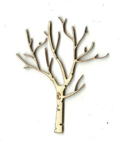 Bare Tree - Laser Cut Wood Shape Tre31 Craft Supply
