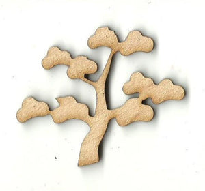 Tree - Laser Cut Wood Shape Tre96 Craft Supply