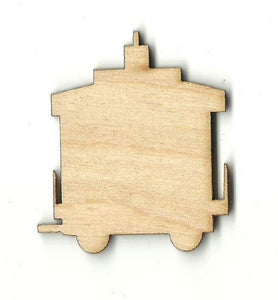 Caboose - Laser Cut Wood Shape Trn12 Craft Supply