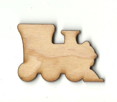 Train Engine - Laser Cut Wood Shape Trn14 Craft Supply