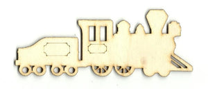 Train - Laser Cut Wood Shape Trn1 Craft Supply