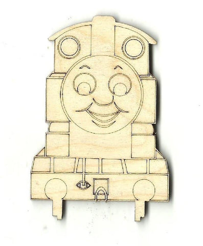 Train Engine - Laser Cut Wood Shape Trn6 Craft Supply