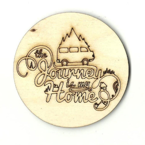 Camping Picture - Laser Cut Wood Shape Trp32 Craft Supply