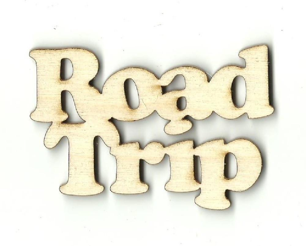 Road Trip - Laser Cut Wood Shape Trp9 Craft Supply