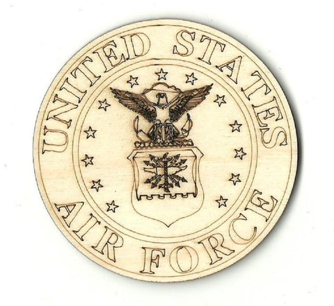 Air Force  - Laser Cut Wood Shape USA13