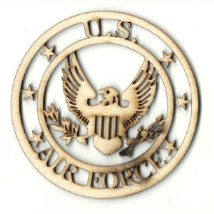 Air Force - Laser Cut Wood Shape Usa30 Craft Supply